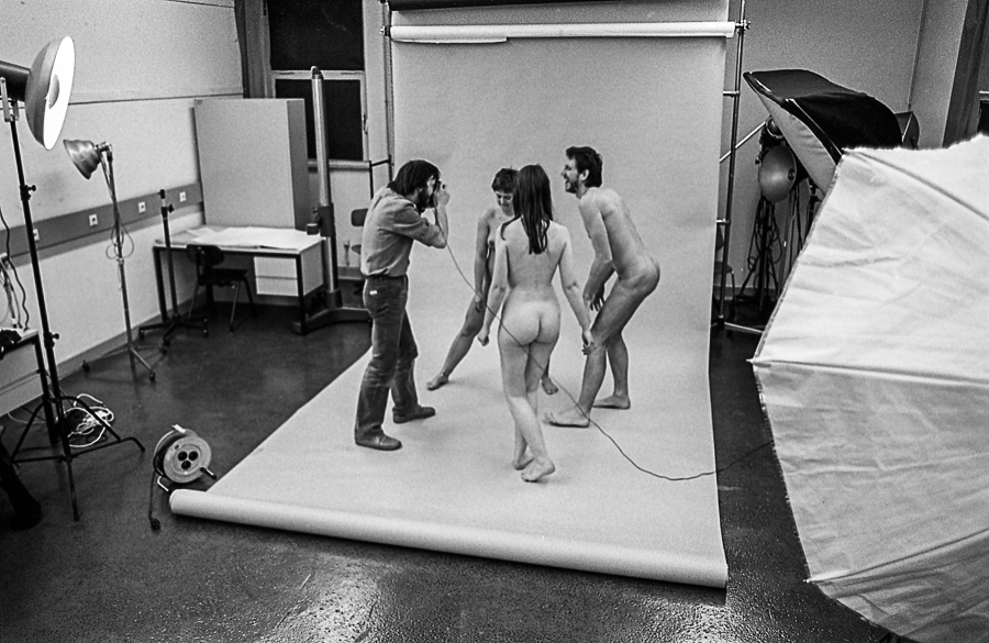 Adi Bachinger - im Studio FH Dortmund - Aktfotos - Foto: unbekannt